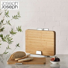 【全品P5倍〜10倍】ジョセフジョセフ インデックス付まな板バンブー 60141 JosephJoseph
