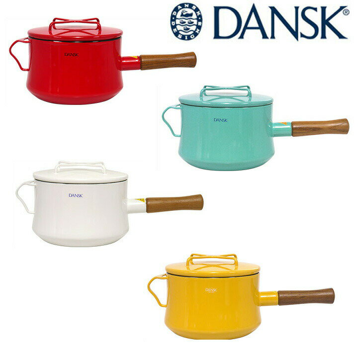 DANSK(ダンスク) KOBENSTYLE(コベンスタイル) 片手鍋 18cm 深型 3Qt(ソースパン)
