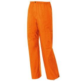 作業服 作業着 レインウェア 全天候型パンツ 防水 透湿 カッパ メンズ 男性 アイトス AITOZ IIS-56302 オレンジ スチールブルー ネイビー チャコール ブラック Sサイズ Mサイズ Lサイズ LLサイズ 3Lサイズ 4Lサイズ 5Lサイズ