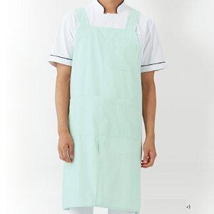医療白衣男女兼用ミドル丈エプロンKAZENSAA-922女性男性レディースメンズ介護看護ケアスタッフ訪問看護