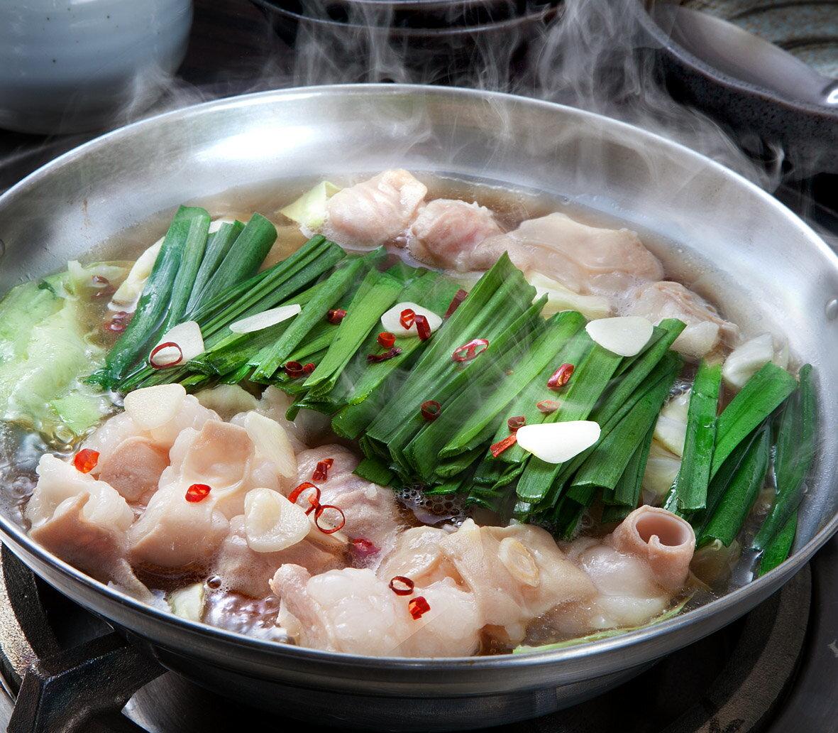 【送料無料】鶏家特選もつ鍋セット(3〜4人前)