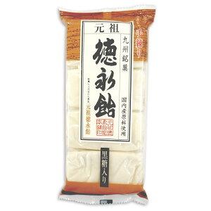【元祖 徳永飴総本舗】徳永飴(黒糖入り)8枚-4袋セット