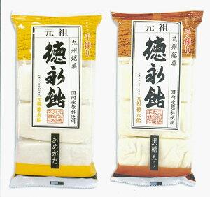 徳永飴(あめがた)(黒糖入り)8枚-各3袋6袋セット