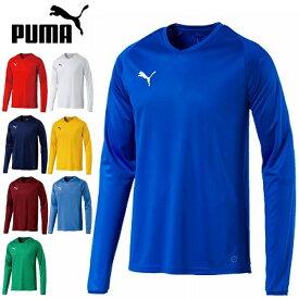 全品ポイント2倍&メール便送料無料 プーマ LIGA ゲームシャツ コア 長袖 703669 PUMA メンズ サッカー フットサル プラクティスシャツ