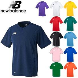 メール便送料無料 ニューバランス ゲームシャツ 半袖 Tシャツ JMTF6192 newbalance メンズ サッカー フットサル スポーツウェア