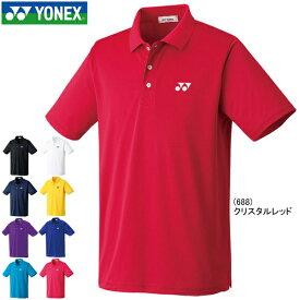全品ポイント2倍&メール便送料無料 ヨネックス ポロシャツ 半袖 YONEX メンズ レディース スポーツウェア ソフトテニス バドミントン 10300