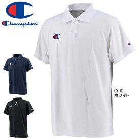 全品P2倍&メール便送料無料 チャンピオン ポロシャツ 半袖 Champion メンズ スポーツウェア トレーニング C3-PS391