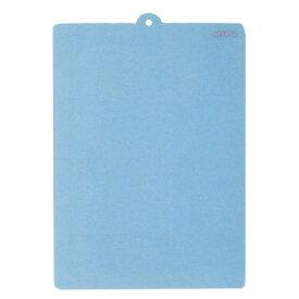 【日本製】 マーナ まな板がわり(大) ブルー(半透明) K609B