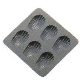 SALUS(セイラス) ドルチェ シリコンケーキ型 マドレーヌ型 6ヶ取