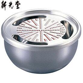 【日本製】 新光金属 HMO-9SS 純銅おろし器(ステンレス器) 5寸 15cm 【送料無料】