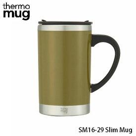 サーモマグ スリムマグ 290ml カーキ SM16-29