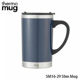 サーモマグ スリムマグ 290ml ネイビー SM16-29