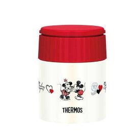 THERMOS(サーモス) Disney(ディズニー) ミッキー&ミニー 真空断熱スープジャー NV-R・ネイビーレッド JBQ-300DS
