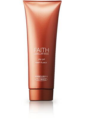 【送料無料】【FAITH】 フェース ラメラモード クレイゲルウォッシュ&パック 280g吸着力で汚れを落とす、洗顔・パック