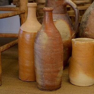 AntiqueStonewareCiderBottle1/France/c.1900sインテリアアンティークヴィンテージ家具雑貨陶器フランス