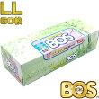 驚異の防臭素材BOS/防臭袋LLサイズ・マチ付60枚入/おむつ/生ゴミ/うんち袋/袋サイズ:35cm×50cmクリロン化成
