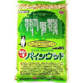 特選・限定品パインウッドPINEWOOD 猫砂 6L ※6個で1便 同梱商品がある場合は送料加算 pi00013
