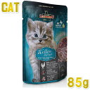 最短賞味2022.3・レオナルド キトン 85gパウチ 子猫 幼猫用一般食 ファイネスト セレクション キャットフード ウェット LEONARDO 正規品 le56305