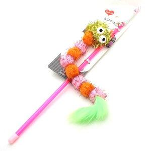 ループ ロッディーズ キラキラワーム ピンク&オレンジ猫じゃらし・ロッド長40cm・t66019