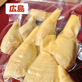 国産タケノコ水煮 900g広島県産【送料無料】収穫して水煮・栽培期間中、無農薬・有機たっぷり