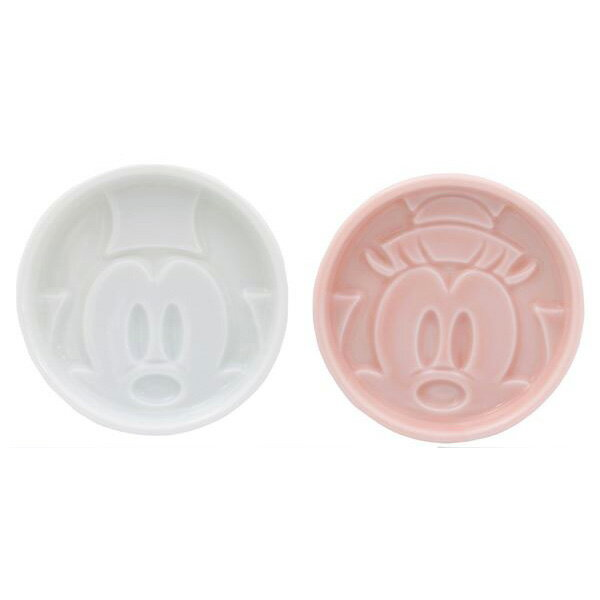 Disney(ディズニー)醤油皿 祝いペア醤油皿(ミッキー&ミニー)(内祝い 結婚祝い 出産祝い 新築祝い 結婚内祝い 引き出物)(お買い物マラソンセール)