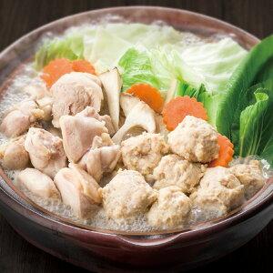 博多華味鳥 水たき・焼き鳥セット(水たきスープ 華味鳥切り身 華つくね ちゃんぽん麺 博多ポン酢 焼鳥)(内祝い お返し ギフト)(キャッシュレス5%還元)