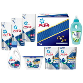 P&G アリエール イオンパワージェル&ジェルボール洗剤ギフトセット PGID-50Y(内祝い 結婚内祝い 出産内祝い 景品 結婚祝い 引き出物 香典返し ギフト お返し 洗剤ギフトセット)(キャッシュレス5%還元)