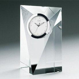 グラスワークスナルミ プリズム クロック(M)(記念品 イベント パーティ プレゼント 景品 粗品 賞品 ノベルティ ギフト)
