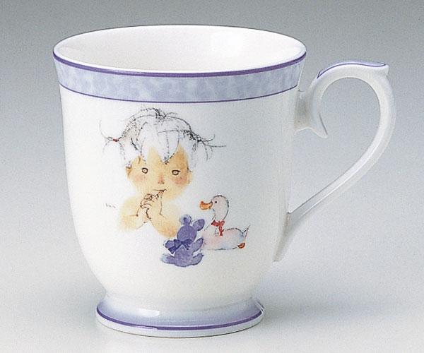 ナルミ いわさきちひろ マグ アヒルとクマとあかちゃん (ナルミ 陶器/マグカップ)(内祝い 結婚内祝い 出産内祝い 新築祝い 結婚祝い 引き出物 香典返し 成人祝い お返し)