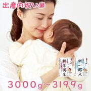 内祝いオリジナル新米「しんまいでちゅ!」3000g-3199g