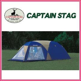キャプテンスタッグ M-3117 オルディナ スクリーンツールームドームテント 5〜6人用 キャリーバッグ付 5〜6人用の居住スペースを確保したツールーム型ドームテント アウトドア