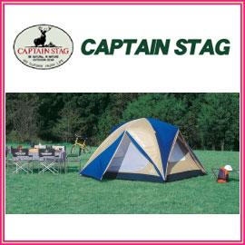 キャプテンスタッグ M-3118 オルディナ スクリーンドームテント 6人用 キャリーバッグ付 インナーテントの前後左右4面にメッシュを装備し、暑い夏でも快適にテント内で過ごせます アウトドア