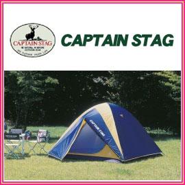 キャプテンスタッグ M-3106 レニアス ドームテント 5〜6人用 ベーシックで5〜6人用の居住スペースのある大型ドームテント アウトドア