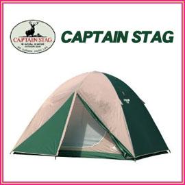 キャプテンスタッグ M-3132 CSドームテント270UV 5〜6人用  組立簡単!ファミリーに最適な5〜6人用ドームテント キャリーバッグ付 アウトドア
