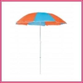 キャプテンスタッグ デューイ パラソル170cm(ライトブルーxオレンジ) M-1590