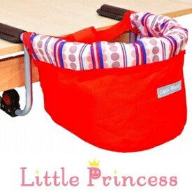 リトルプリンセス Little Princess テーブルチェア レッド ベビーチェア テーブルに取り付けるタイプ 5ヶ月〜36ヶ月 ずり落ち防止ベルト付き