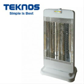 ■TEKNOS パワーモニター付きシーズヒーター TSH-9100 テクノス 鉄管ヒーター 転倒オフスイッチ/転倒OFF チャイルドロック付 首振り機能 暖房器具