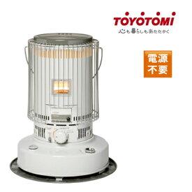 ■送料無料■ トヨトミ 対流型ストーブ KS-67H ホワイト ストーブ 電源不要 乾電池使用 石油ストーブ
