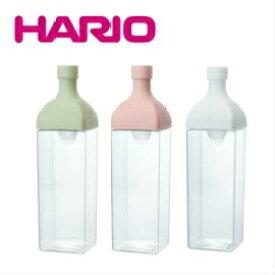 HARIO ハリオ カークボトル KAB-120-W/SPR/SG ホワイト スモーキーピンク スモーキーグリーン 角型ボトル 水出し茶