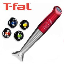T-fal  クリック&ミックス スティックミキサー ルビーレッド HB460GJP キッチンをスタイリッシュに彩る、ルビーレッドシリーズが登場