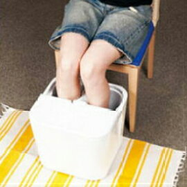 ★人気★MAJA マジャ  フットバス プロ ホワイト 足のお風呂 足元を温めて血行やリンパの流れを良くする