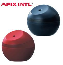 【在庫限り】アピックス  超音波式アロマ加湿器 AHD-064 Ultrasonic aroma humidifier APIX AHD064 AHD-064-NV ネイビー AHD-064-RD レッド超音波式加湿器 アロマディフューザー 加湿機 プレゼント 贈り物