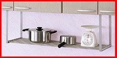 田窪工業所 伸縮パイプ棚 (90〜120cm) TS1-120L キッチン・インテリア収納 簡単・便利 お役立ちグッズ