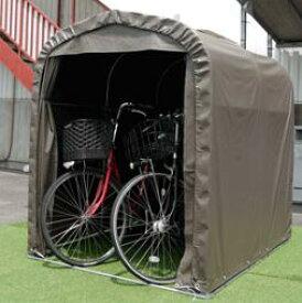 【メーカー直送の為代引き不可】■送料無料■代引不可■サイクルハウス SH2-SB 自転車収納・簡易物置・自転車置場に最適