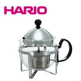 ■人気! HARIO ハリオ 茶王 CHAN-4SV (600ml) 4杯用 シルバー 紅茶 お茶 ポット 急須 ギフト CHAN4SV ステンレス 母の日 プレゼント