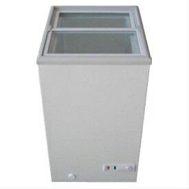 【メーカー直送の為代引き不可】業務用冷凍ショーケース 62L MS-062G ロックアイス、保冷剤、冷凍お土産の販売・保管に 三ツ星