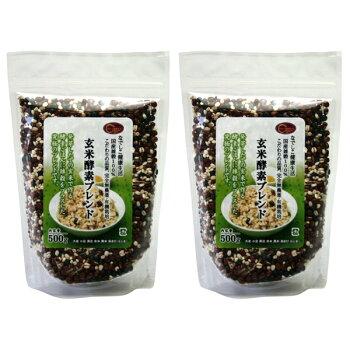 玄米酵素ブレンド1kgセット(500g×2袋)