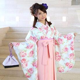 【レンタル】 卒業式 袴 レンタル 女 LIZ LISA(リズリサ) 袴セット 女 卒業式袴セット2尺袖着物&袴 フルセットレンタル 安い