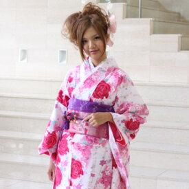 【最大3000円OFFクーポン】【レンタル】割引・振袖 レンタル 成人式 セット20点フルセット「白 ホワイト ピンク 赤 レッド バラ 薔薇 桜」成人式から結婚式やフォーマルまで 着物 kimono フリソデ ふりそで rental れんたる せいじんしき セイジンシキ バッグ bag