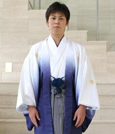 【レンタル】 成人式 袴 卒業式 男 紋付羽織袴 レンタル14点フルセット 〔消費税込み〕